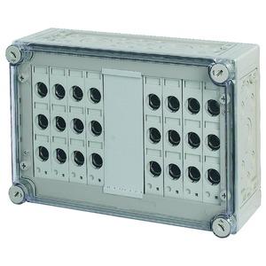 RS18/I43E, Sicherungskasten, 8x3xE18, HxBxT=250x375x150mm