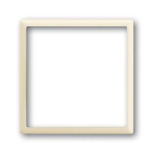 1716-72, Zentralscheibe, elfenbein/weiß, impuls, Abdeckungen für LED-Licht