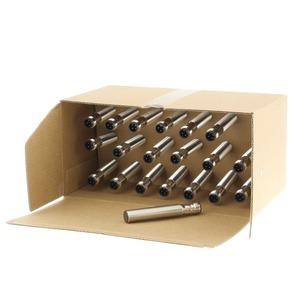 E2B-M12LS04-M1-B1-20, 20er Pack: Induktiver Sensor - LITE Linie, Schaltabstand 4mm, bündig, Messing-Gehäuse lang M12, 24 VDC, 3-Draht, PNP, Schliesser, 4poliger M12 Stecker