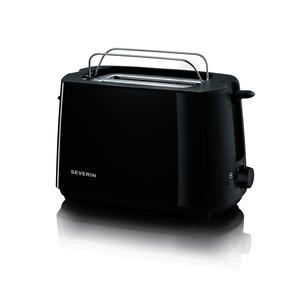 Automatik-Toaster, ca. 700 W, schwarz