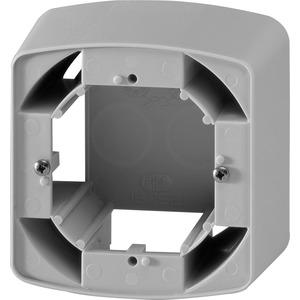 Aufputzgehäuse Aufputzkappe 1-fach, Schalterprogramm inteo - inteoweiß