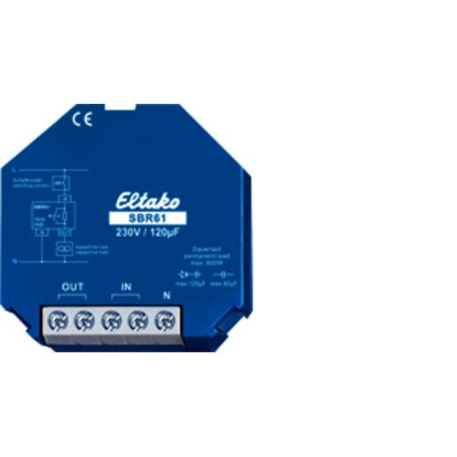 Eltako Strombegrenzungsrelais SBR61-230V//120µF Strombegrenzer 61100330