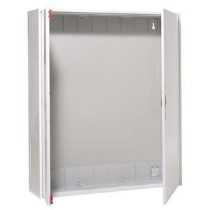 3/2A, Wandschrank IP43 Aufputz und teilversenkte Montage für den Innenbereich, 3/2A