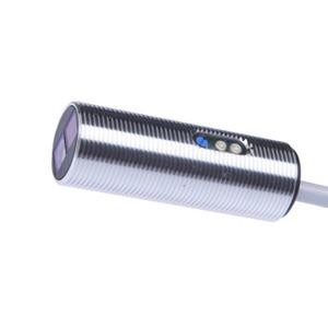 sensor opt,taster M18x1/50lang,rotl,HGA 10-35V DC,200mA,Sn:120/2m Kabel