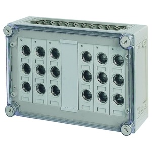 RS27/I43-125, Sicherungskasten, 6x3xE27, HxBxT=250x375x150mm