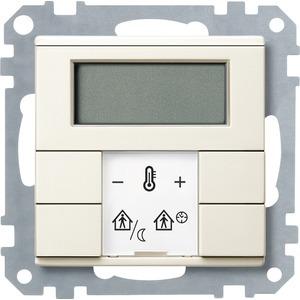 Raumtemperaturregler mit Display, weiß, System M