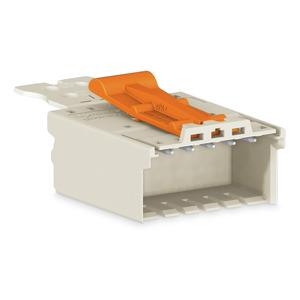 2091-1508/002-000, 1-Leiter-Stiftleiste Griffplatte 1,5 mm² Rastermaß 3,5 mm 8-polig lichtgrau
