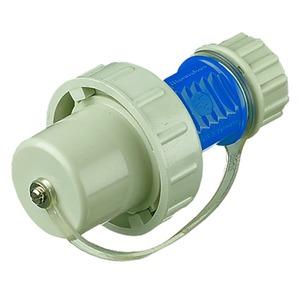 SCHUKO®-Stecker mit Bajonettring, 230V, 16A, IP68, 2P+E,