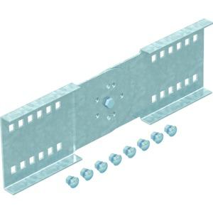 WRGV 110 FSK LGR, Gelenkverbinder Weitspann-System110 FSKRAL7035 110x380, St, PE50K, lichtgrau, RAL 7035
