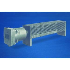 Ex-Raumheizgerät 3.000 W, temperaturgeregelt, mit Schutzkorb, T2