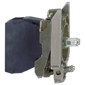 Lampenfassung, ZB4, blau Integral LED, 230-240V
