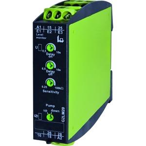 G2LM20 24VAC, Füllstandsüberwachung leitfähiger Flüssigkeiten, 2 Wechsler