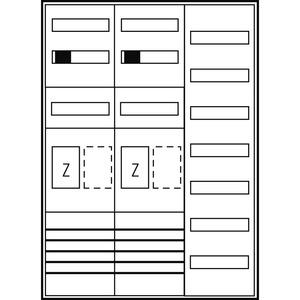 Komplett-Schrank ZFH/eHZ BW