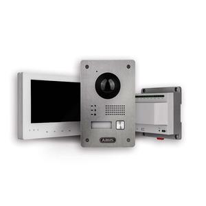 Videotürsprechanlage Set (Türstation / Monitor / Verteiler)