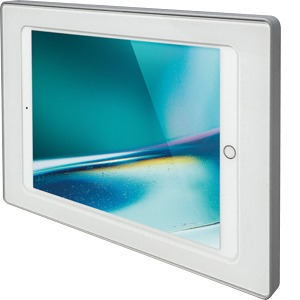 surDock-iPad-9,7 white, Dockingstation mit Ladefunktion, weiß