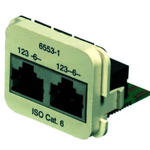 INSERT CAT6a 2x 10/100BT /A