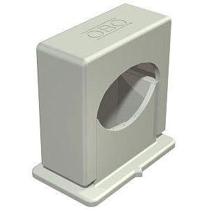3051 LGR, Druck-ISO-Schelle 14-24mm, PS, lichtgrau, RAL 7035