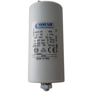 400 450 MKP/FL, Betriebskondensator 40µf 450V mit Flachsteckanschluss