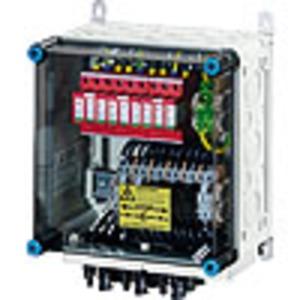 Mi PV 1263, PV-Generatoranschlusskasten, mit ÜSE, 6xPV-Strang auf 3xWR-Eing.
