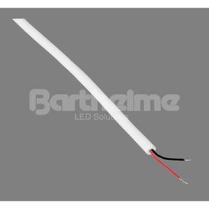 Kabel 2-polig weiß Außenbereich pro Meter