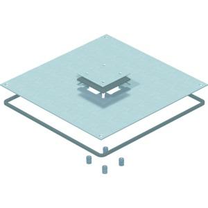 DUF 350-3 DAT, Montagedeckel 350-3 für Telitank 383x383x4, St, FS