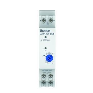 LUNA 108 plus EL, Dämmerungsschalter für DIN-Schiene, Einbau-Lichtsensor