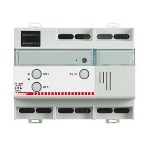 Reiheneinbaudimmer mit 1 Ausgang 1000 VA für Glühlampen, magnetische Trafos und Vorschaltgeräte, 6 TE DIN
