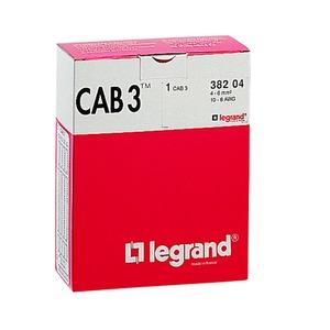 CAB 3 Kabelkennzeichnungssystem, Leiterquerschnitt 0,5 - 1,5 mm² 2500 Kennzeichen und 10 Montagemagazine