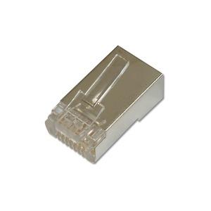 CAT 6 Modular Stecker, 8P8C, geschirmt für Rundkabel, zweiteilig