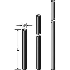 ZAS 06 Mast 48 x 3000 mm, Mast ZAS 06, 3,0 m, 48 mm