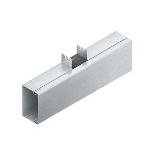 LUT 60.100.100 E3, T-Stück mit Deckel, 60x100 mm, Abgangsbreite 100 mm, Edelstahl, Werkstoff-Nr.: 1.4301, 1.4303