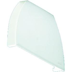 VLRE-T16 1../2.. ENDDECKEL, Reflektorenddeckel für VLR-T16, weiß, 1 Stück