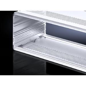 VM 3982.710, Bodenblech für Ripac Vario-Modul ohne Lüftungslöcher, 84 TE, T: 310,4 mm