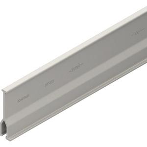 HBTR65, Trennwand, 49x2000 mm, steckbar, grau