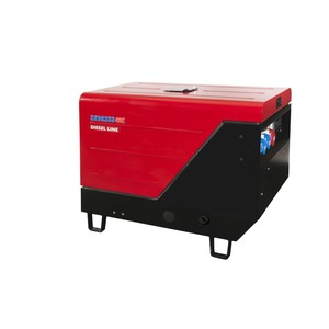 ESE 1006 DLS-GT ES ISO DI, Diesel Stromerzeuger - 8,5 kVA / 400/230 V Synchron IP 23, E-Start