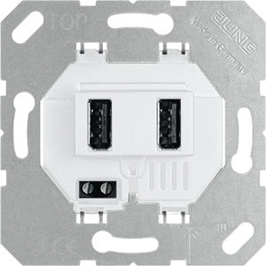 USB 3-2 WW, USB-Ladegerät, Schraubbefestigung