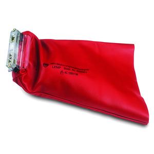 Sicherungs-Aufsteckgriff m.Lederstulpe, 385mm Länge, 220mm Breite