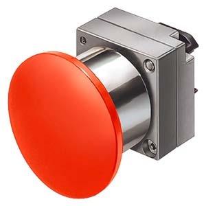3SB3500-1CA31, Druckzug-Schalter, 22mm, rund gelb