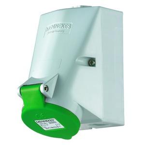 Wanddose, 32A3p10h>50-500V, IP44