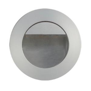 LED-Wandeinbaul.     230V, 1W, alu matt