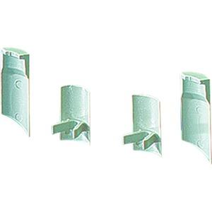 Mi SA 2, Staubschutz-Abdeckung Mi SA 2, für Deckelbefestigungsröhre (Satz 2 St.)