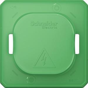 MEG3900-0000, Schmutzabdeckung für Schalter und Steckdosen, grün