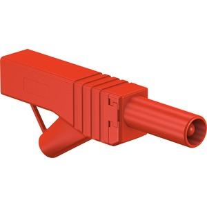 XL-459/30, 4mm Stapelbarer Stecker rot