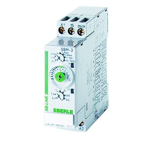 SBM-3 / 22,5 mm, Zeitrelais UC 12...240 V 50/60 Hz, 8 A, 2 We, 0,1 s...100 Std.