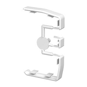 GEK-KS45, Stoßstellenabdeckung, PVC, reinweiß, RAL 9010