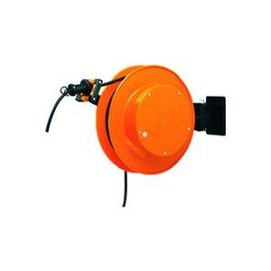 FT 038.0515, Kabelaufroller aus Kunststoff abschaltbare Arretierung 15m Kabel H07RN-F 5x1,5
