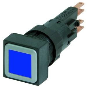 Q18LT-BL/WB, Leuchtdrucktaste, blau, tastend, + Glühlampe 24 V