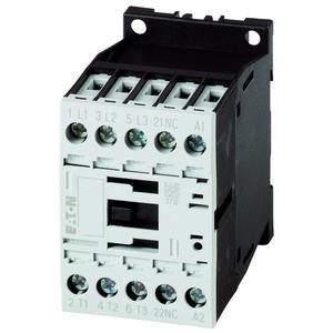 DILM7-01(110VDC), Leistungsschütz, 3-polig, 380 V 400 V 3 kW, 1 Ö, 110 V DC, Gleichstrombetätigung, Schraubklemmen