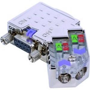 PB_DP-Stecker_45° 12MBit,PG-Bu Diagn.LEDs,schaltb.Abschlußwid