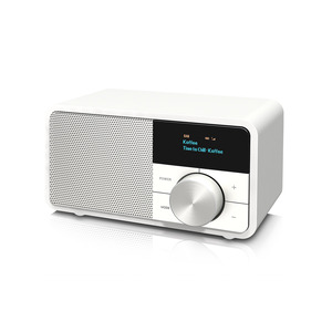 DAB+1 mini weiss, <div>Kleines, klangstarkes FM-/DAB+-Radio, Bluetooth f&uuml;r drahtloses Audio-Streaming, manuelle Senderabstimmung, LED Display, externe Antennbuchse